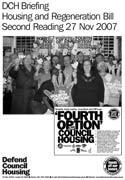 DCH Briefing on Housing & Regeneration bill