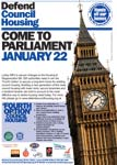 Come to Parliament on Jan 22 2008 - flyer